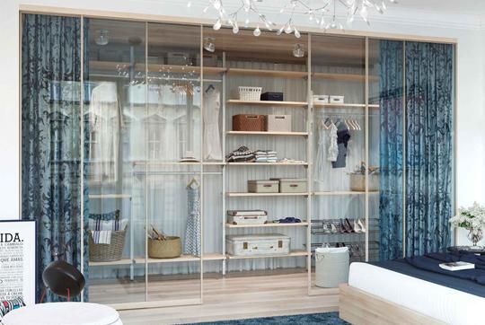 Главные принципы распределения свободного пространства в гардеробе