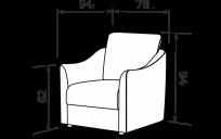 Кресло СИЛЬВИО