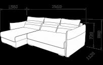 Кутовий диван ТУТТІ