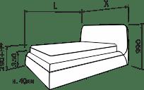 Ліжко ГРЕЙС