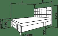 Ліжко ДЖЕССІКА