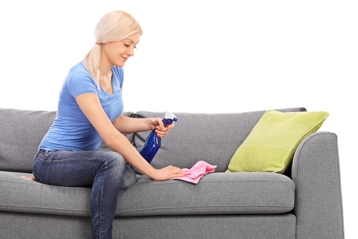чистка мебели ванишем - dommino
