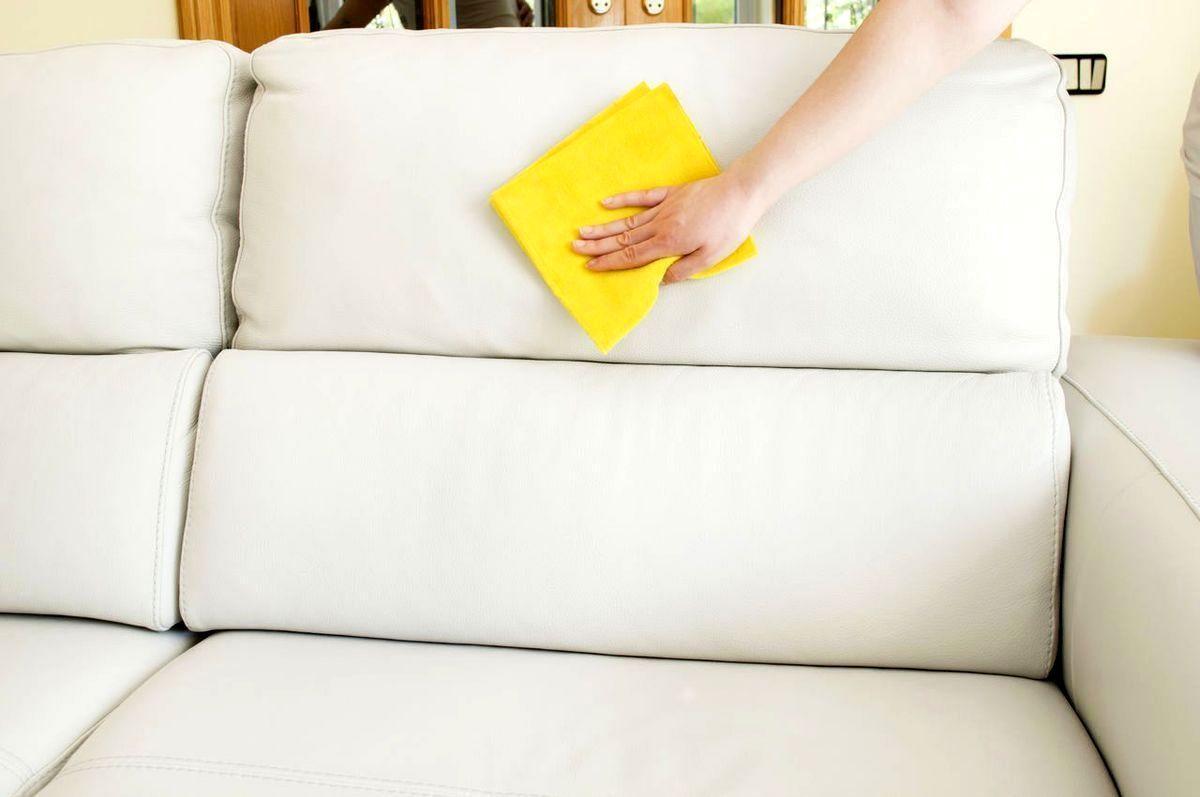 Как отмыть белый диван - фото 1