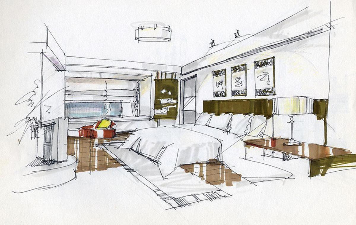как расположить диван в комнате - фото2