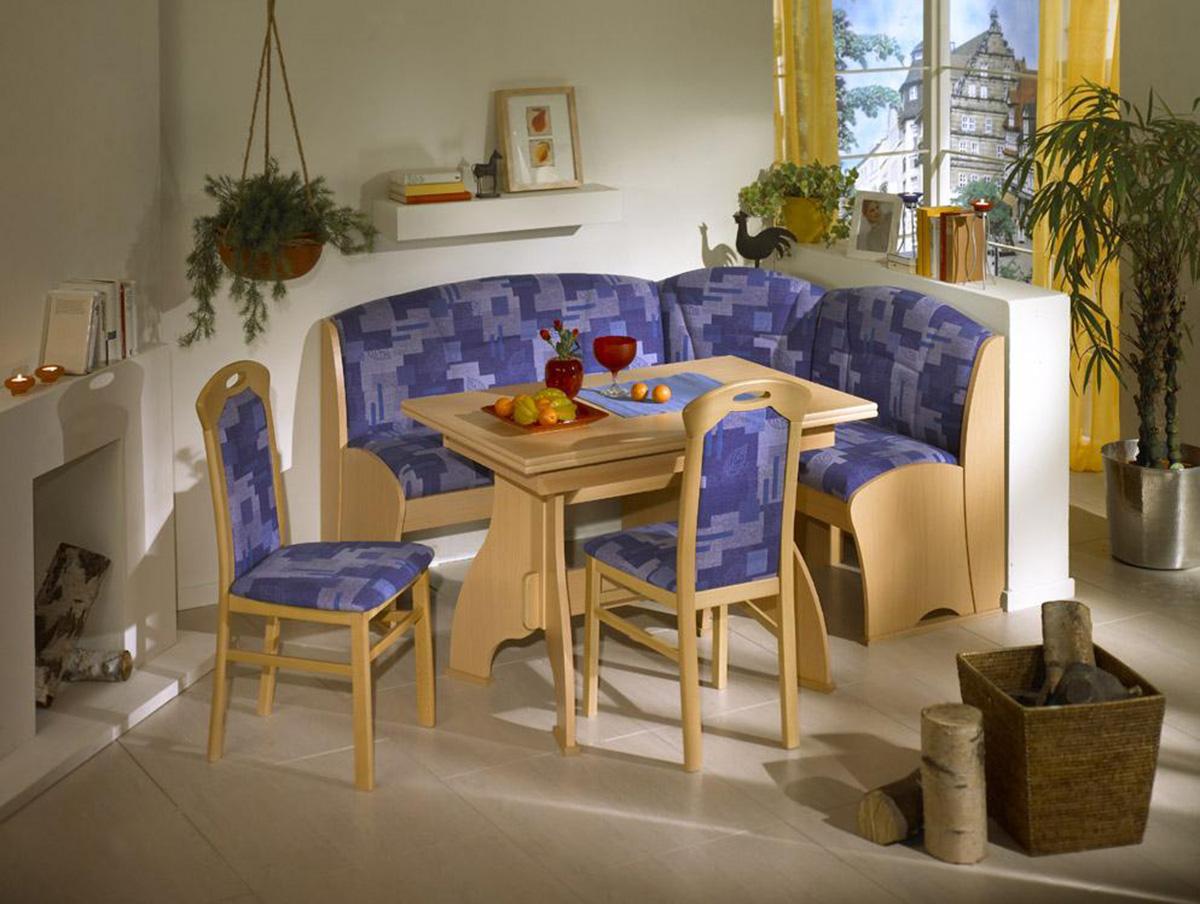 Как разместить диван на кухне - фото2