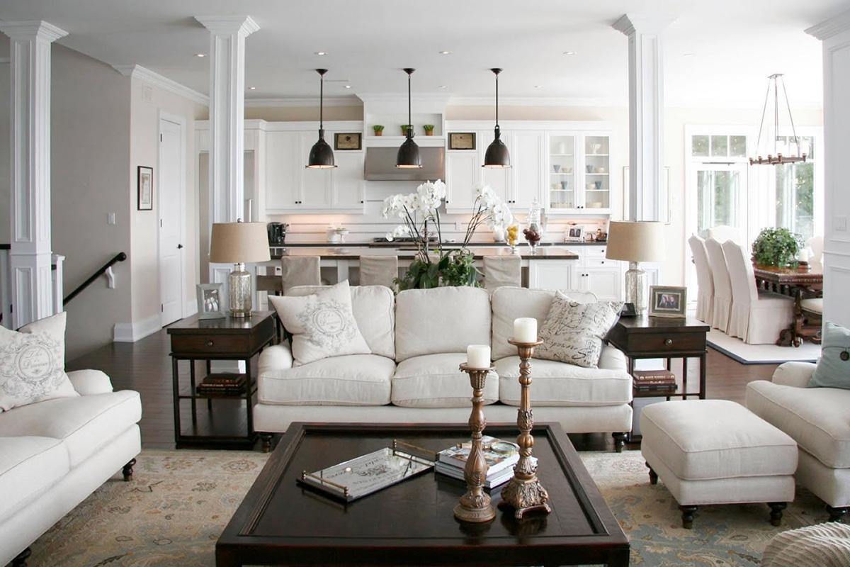 Как разместить диван на кухне - фото3