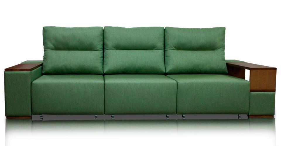 зеленые диваны - доммино