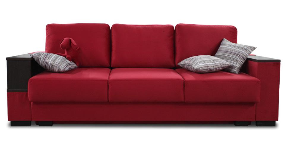 красные диван от Доммино